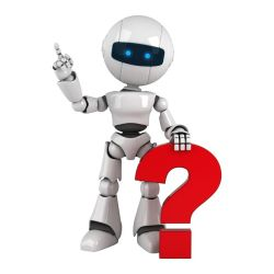 Question mark robot