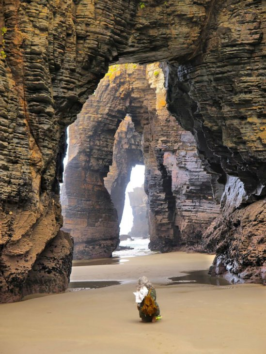 The Beach of the Cathedrals, Ribadeo, SpainImage credits: imgur.com