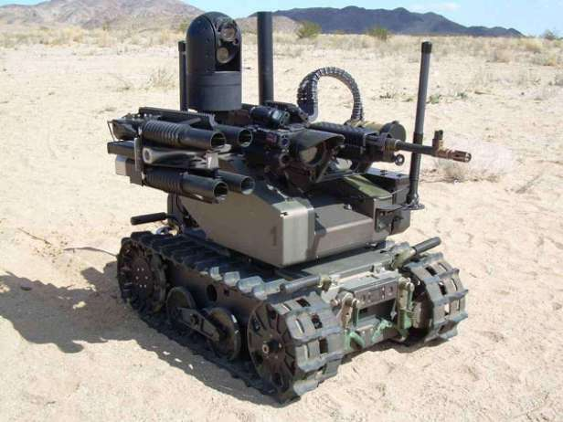 Modular Advanced Armed Robotic System (MAARS) QinetiQ MAARS is an American-made and used remote control gunbot.