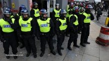 Editorial-Use-Riot-Police-In-London