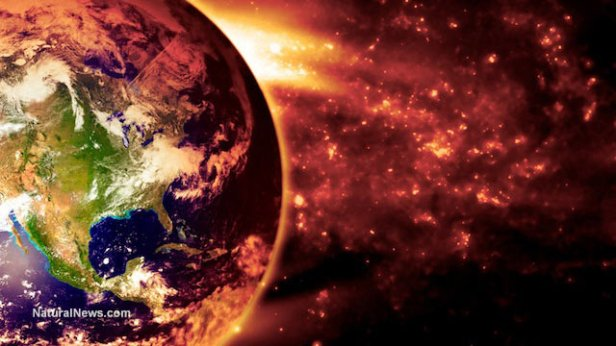 Planet-Earth-Buring-Space-Fire