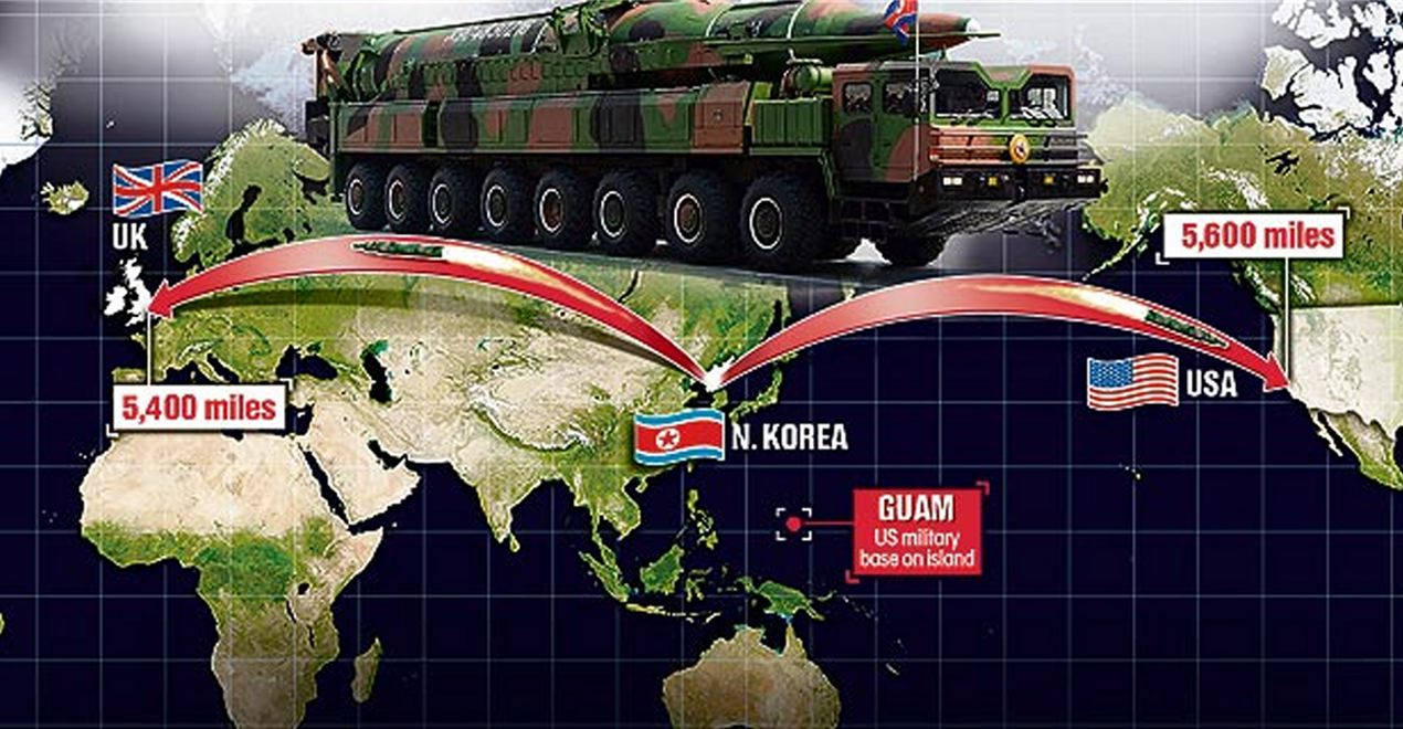 North Korea Tests Rocket Engine Powerful Enough For First Time To Map Us North Korea