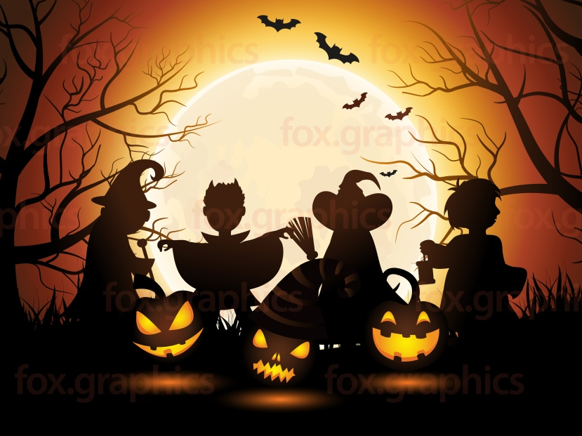 halloween-background-vector